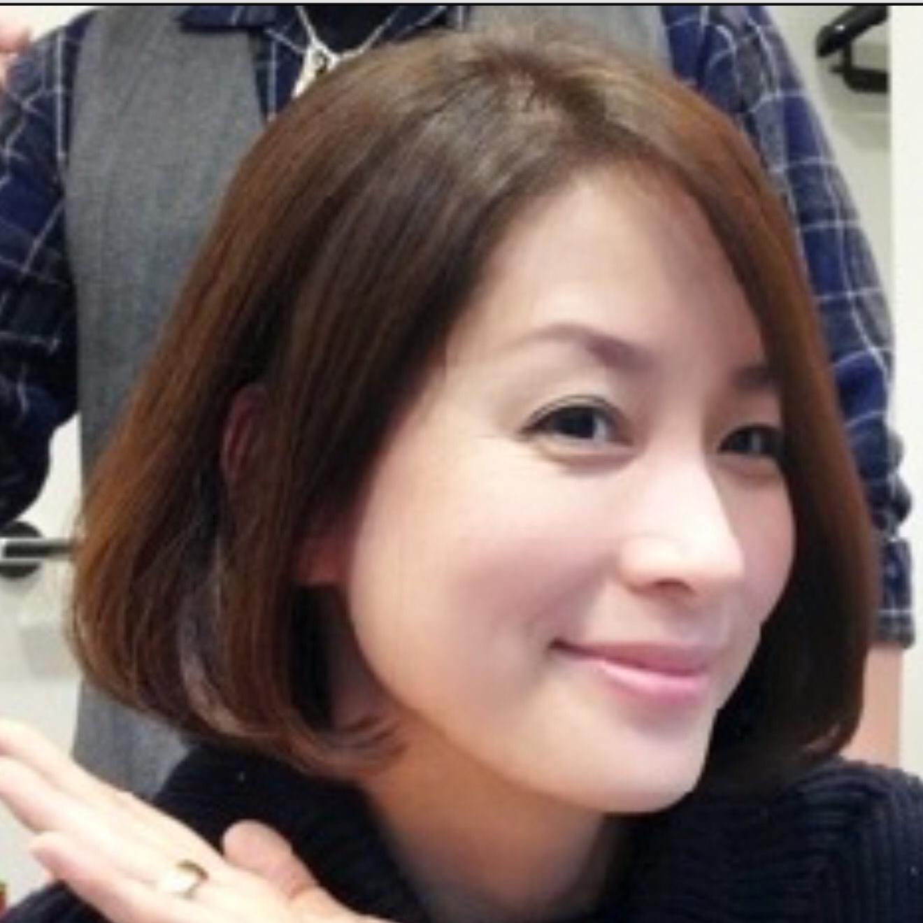 ふんわりボブヘアがかわいい内田恭子